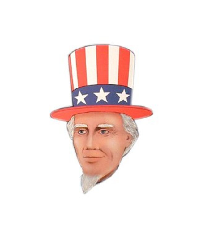 Forum Novelties Uncle Sam Hat and Beard - Heroes in History Kit