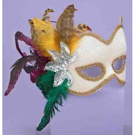 Forum Novelties Carnivale Mask - White Female