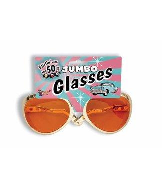 Forum Novelties Glasses Jumbo Rock N Roll (C3)