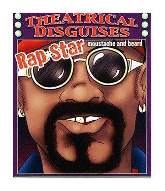 Forum Novelties Beard and Moustache Rap Star