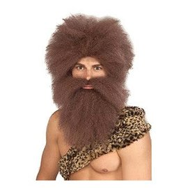 Forum Novelties Caveman Wig And Beard Set