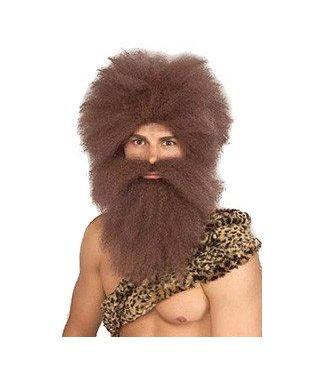 Forum Novelties Caveman Wig And Beard Set