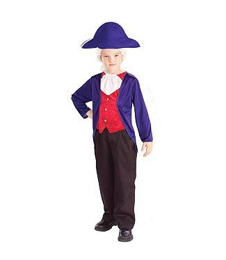 Forum Novelties George Washington, Child Small 4-6