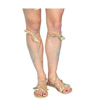 Forum Novelties Gold Sandals - Ladies (C15)