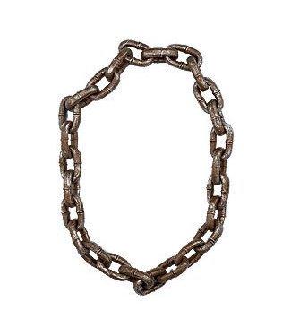 Forum Novelties Jumbo Rusty Chain, Plastic
