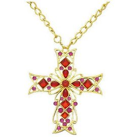 Forum Novelties Gothic Cross Necklace (C15)