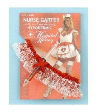 Forum Novelties Nurse Garter with Hypodermic Needle (C11)