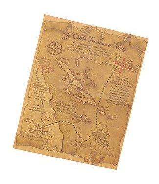 Forum Novelties Pirate Treasure Map (C13)