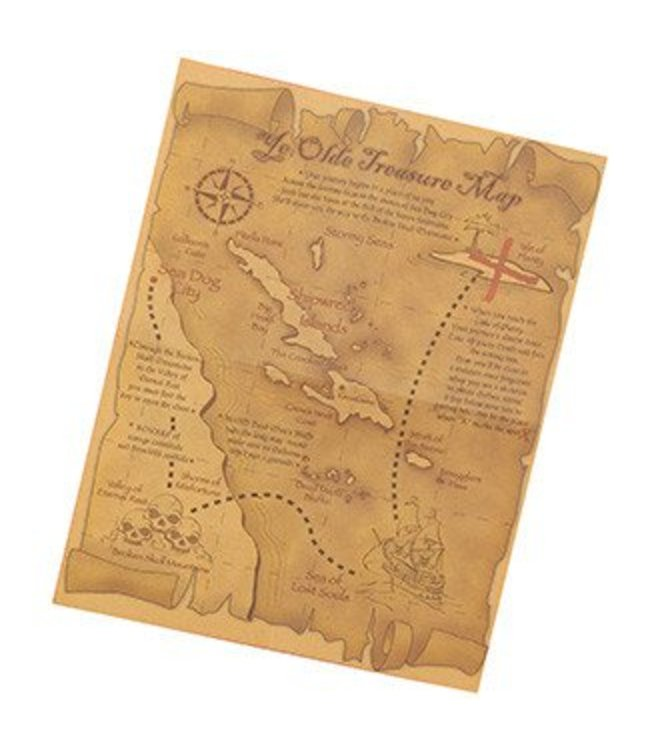 Forum Novelties Pirate Treasure Map (C13)