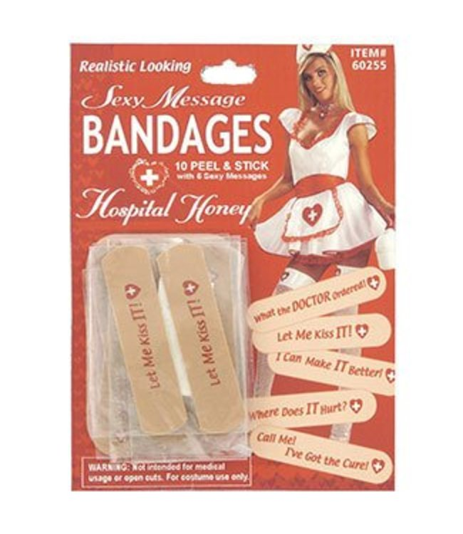 Forum Novelties Hospital Honey Sexy Bandages (C11)