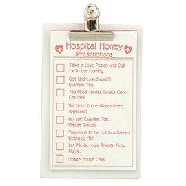 Forum Novelties Hospital Honey Clip Board and Sexy Prescription Pad (C11)