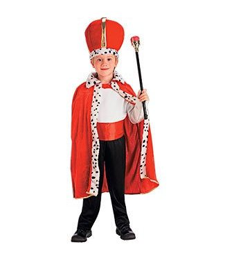 Forum Novelties King Robe and Crown Set- Child