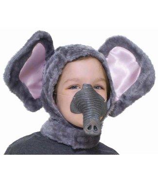 Elephant Hood And Nose