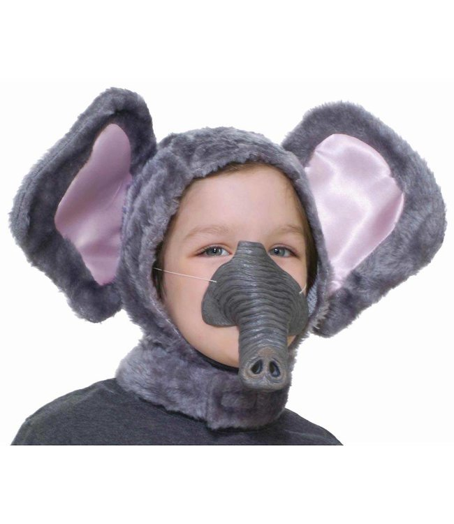 Elephant Hood And Nose
