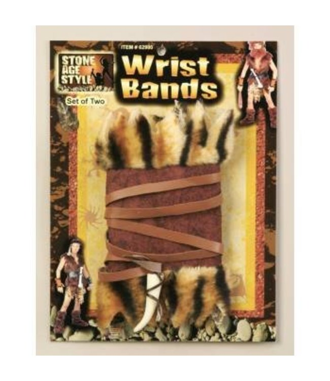 Forum Novelties Stone Age Wrist Cuffs
