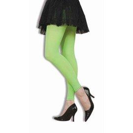 Forum Novelties Neon Green Footless Tights (C4)
