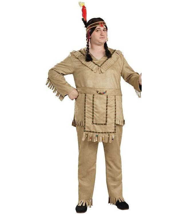 Forum Novelties Native American Brave - Plus Size 30% OFF SALE LIMITED TIME