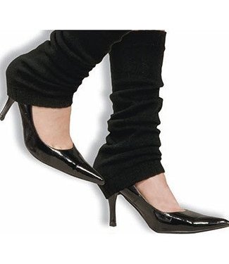 Forum Novelties 80's Black Leg Warmers (C4)