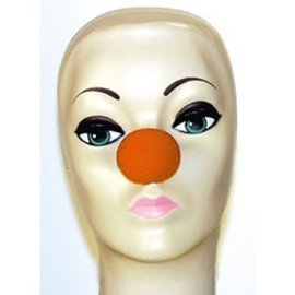 Red Sponge Clown Nose 1 1/2 inches by Magic By Gosh