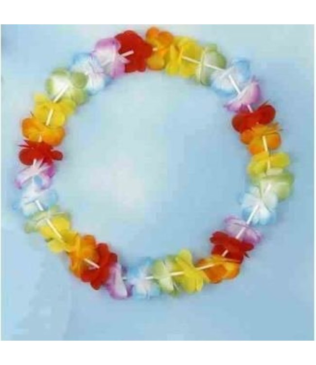 Forum Novelties Silk Flower Lei - Multicolor