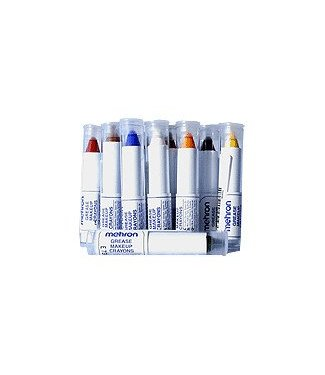 Mehron Grease Make-up Crayon - Silver
