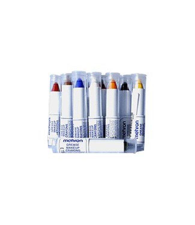 Mehron Grease Make-up Crayon - Silver