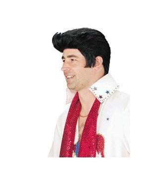Morris Costumes and Lacey Fashions Elvis Wig No. 8