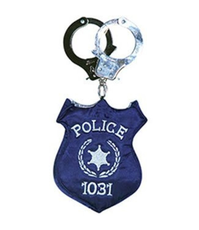 Rasta Imposta Police Badge Costume Handbag