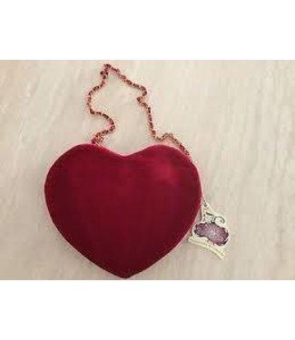 Rasta Imposta Velvet Heart Handbag