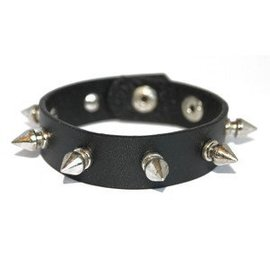 Spike Button Bracelet by Loftus International (C4)