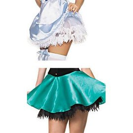 Leg Avenue Teardrop Lace Petticoat Black
