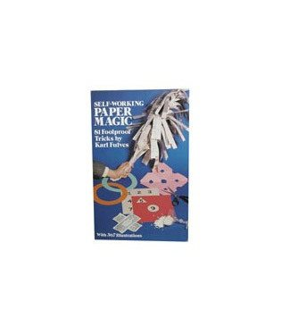 Self Working Paper Magic by Karl Fulves and Dover Publications and BTC - Book (M7)