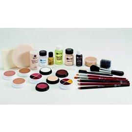 Ben Nye Creme Make Up Kit TK-4 Olive: Med-Deep by Ben Nye