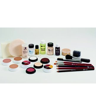Ben Nye Creme Make Up Kit TK-6 Brown: Lt-Med by Ben Nye