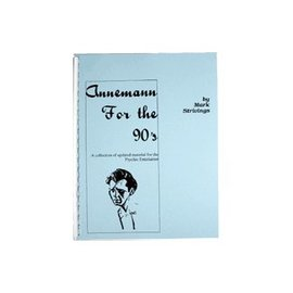 Mark Strivings Book - Annemann for the 90's by Mark Strivings (M7)