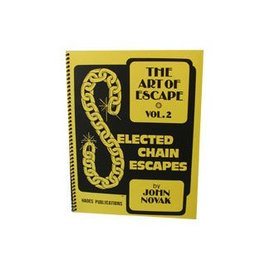 Book The Art of Escape, Volume 2 - Selected Chain Escapes by John Novak and Hades Publications(M7)