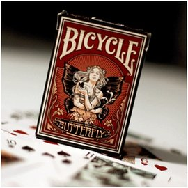 United States Playing Card Company Butterfly Bicycle Deck by US Playing Card