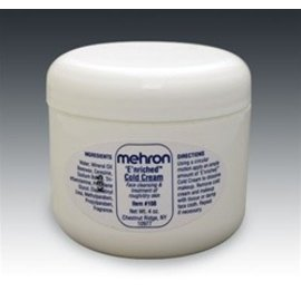 Mehron Enriched Cold Cream  4 oz.