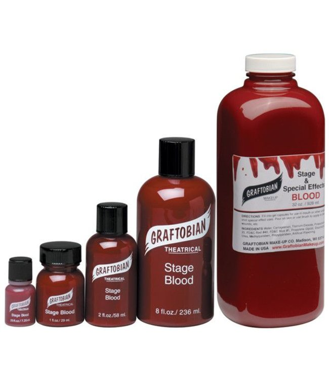 Graftobian Make-Up Company Stage Blood 8 oz (C3)