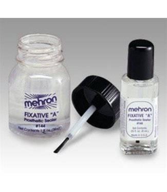 Mehron Fixative A - Prosthetic Sealer 1/4 oz.