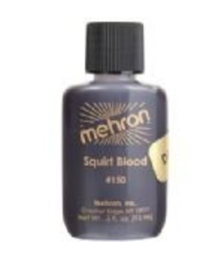 Mehron Dark Venous Squirt Blood .5 oz