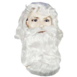 Morris Costumes and Lacey Fashions Santa 367CV2 Wig And Beard Set  (/202)