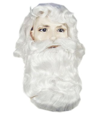Morris Costumes and Lacey Fashions Santa 367CV2 Wig And Beard Set  (/202)