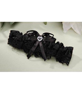 Black Lace Garter