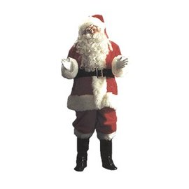 Halco Elite Plush Santa Suit 58-62
