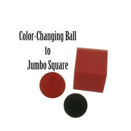 Color Changing Ball to Jumbo Square by Magic By Gosh(M13)