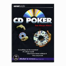 CD Poker by Vernet Magic (M10)