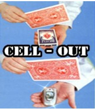 Cell-Out, Cell Phone From Deck by Joker Magic (M10)