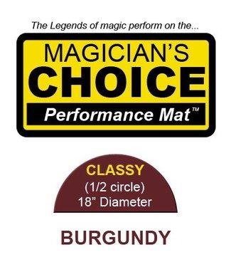 Ronjo Performance Mat Classy, Burgundy