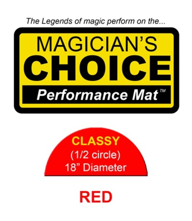 Ronjo Performance Mat Classy, Flame Red